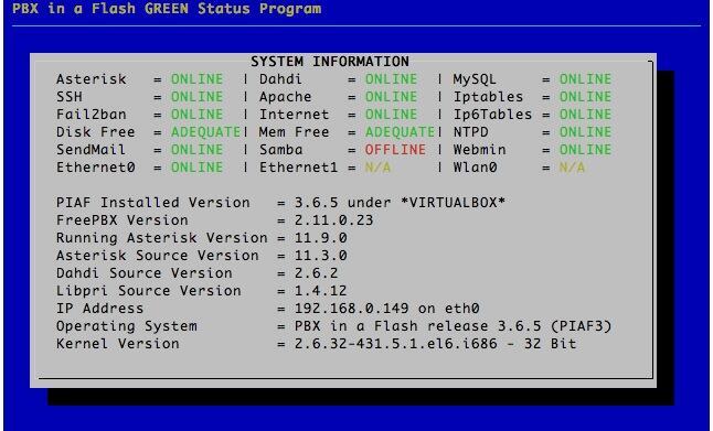 TUTORIAL - Original Asterisk Upgrade Script | PIAF - Your own Linux