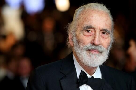 Hammer would like a wish a very Happy Birthday to Sir Christopher Lee, who turned 92 today! http://t.co/q8ceiNNClc