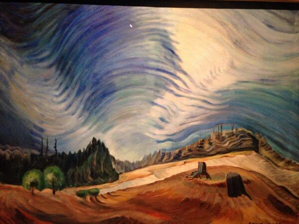 Inspired by #EmilyCarr looking fwd to #SIXVan14 kick off http://t.co/a1UuuJsZSI