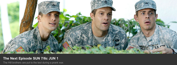 "This Sun (June 1) at 7e/6c a new #Enlisted episode ""Prank War"" will be on your TV screens, I do hope you'll watch it. http://t.co/97UqrxqofF"