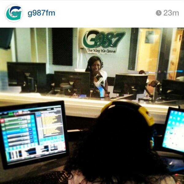 Tune into @G987FM for the Leila Dey interview. http://t.co/U4Jo2ny3ZR