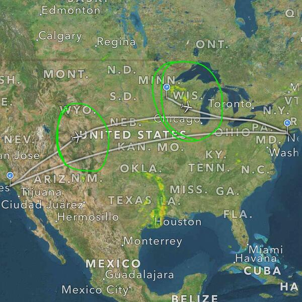 Tracking my flight, and @kimthedork's, en route to NYC. Excited to be meeting up soon for #BEA2014! http://t.co/ae0TSq9xxi