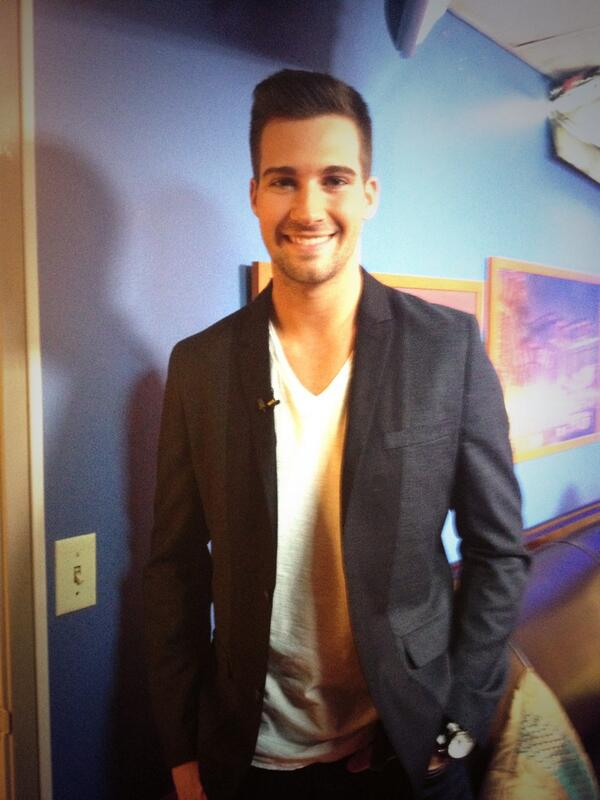 Don't miss @jamesmaslow talking about his new magazine cover! He's on at 8:45! http://t.co/hOYe0PIunE