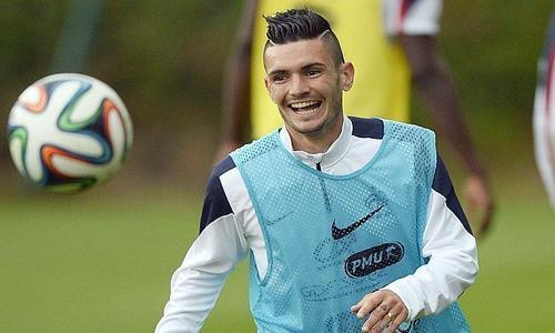 Coupe du monde foot on twitter cabella entre pour honorer sa 1 re s lection en remplacement - 1ere coupe du monde de foot ...