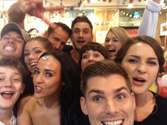 Big thanks for watching & again for voting for us at the #SoapAwards. You're the BEST! #ChallengeHollyoaks http://t.co/SspgHvcuYO