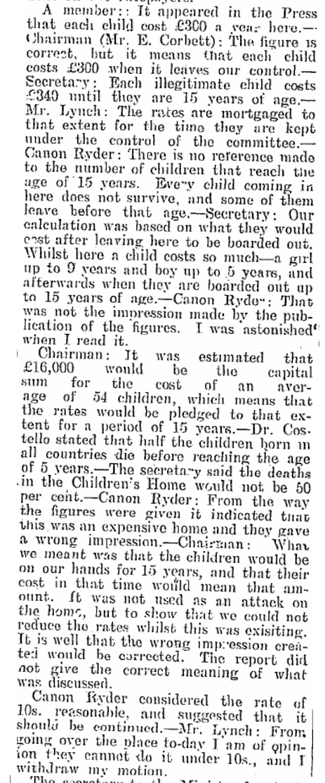"""Every child coming in here does not survive.."" (1928) #Tuam 2/2 http://t.co/Ifnhi6Dd32"