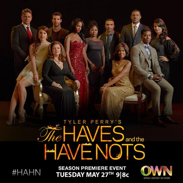 The Haves and The Have Nots Return Tonight At 8pm I Can't wait. Man That Is The Best Show That I Ever Saw! #HAHN http://t.co/wtJNYRP3yF