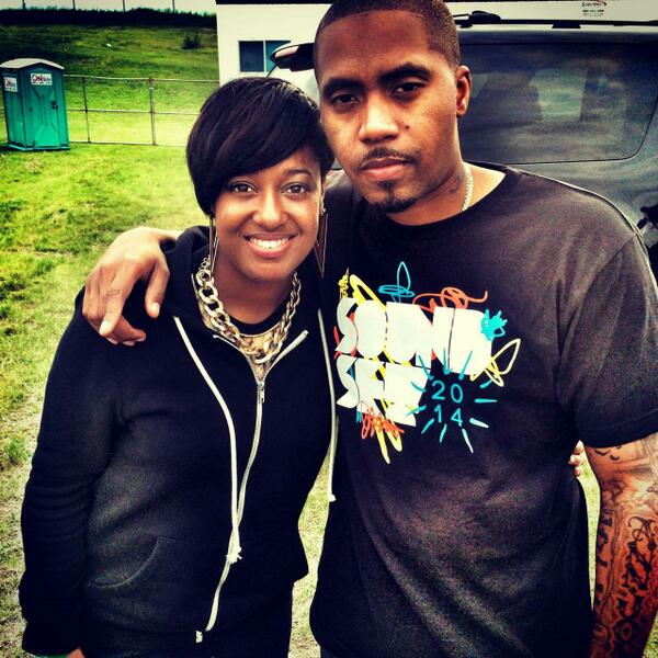 Just in case you thought it was a Game!! @rapsodymusic and @Nas  Stay tuned... http://t.co/wqkU7OuGFm