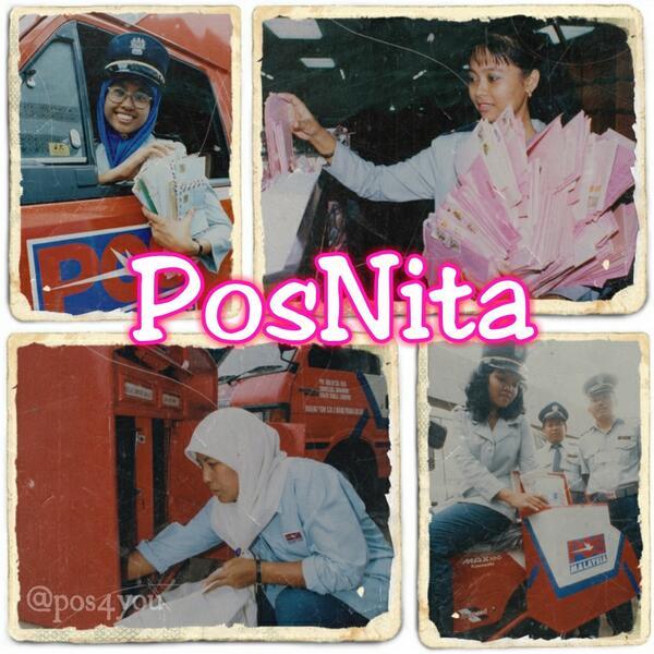 Share Info Pos Malaysia pernah ada posmen wanita dipanggil Posnita