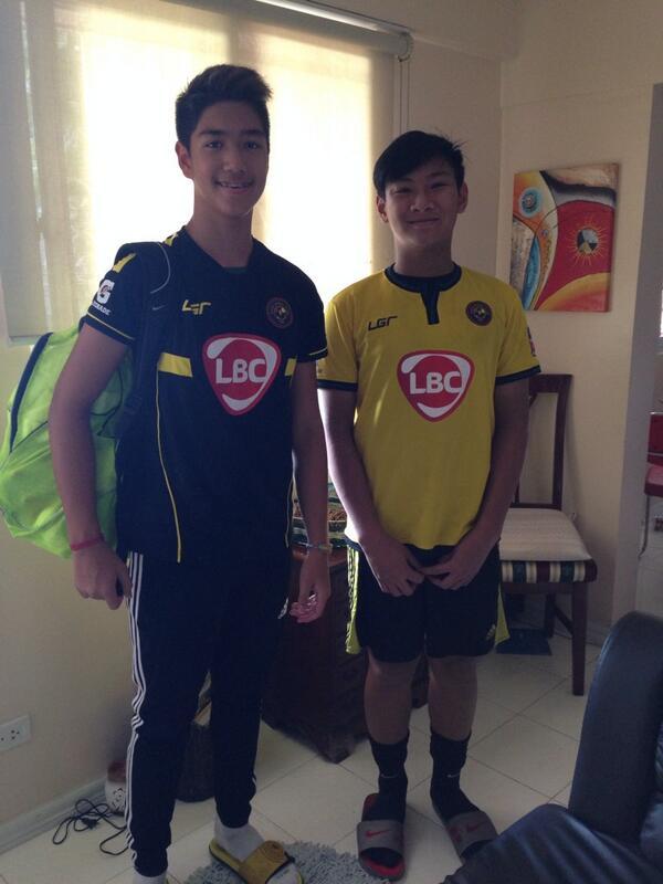 Saint & George off to training @santino_rosales #kayafc #U15 #LBC http://t.co/CnJZ8aRVbB