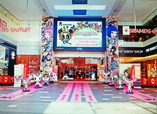 We are proud to present the exclusive #tokidoki Wonderland for the first time in Malaysia, now till 29 June! http://t.co/YJeFMWJN12