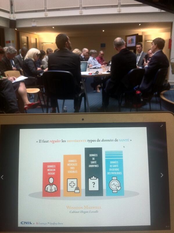 La table ronde #CorpsCapte se poursuit... cc @cnil @geoffreydorne http://t.co/Y6Wubn6GxJ