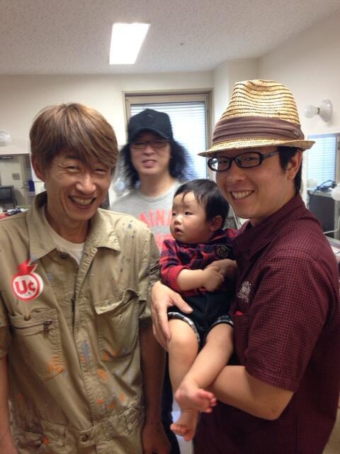 昨日は光生と川西さんが遂にご対面でした(^o^) http://t.co/2o2xgyPXJg