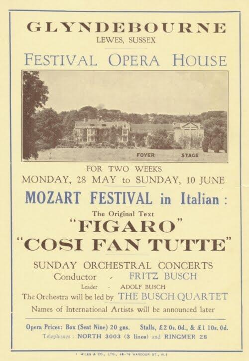 Happy 80th birthday Glyndebourne! Our first ever Festival opened on 28 May 1934. http://t.co/UOxCZHIcK7