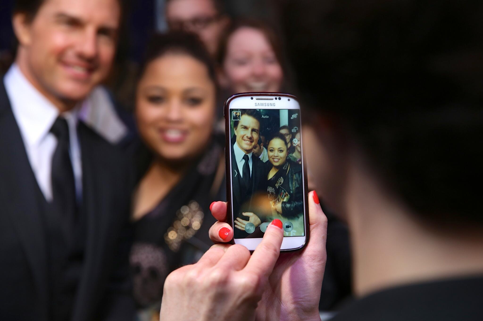 Twitter / TomCruise: Wow, loved seeing everyone ...