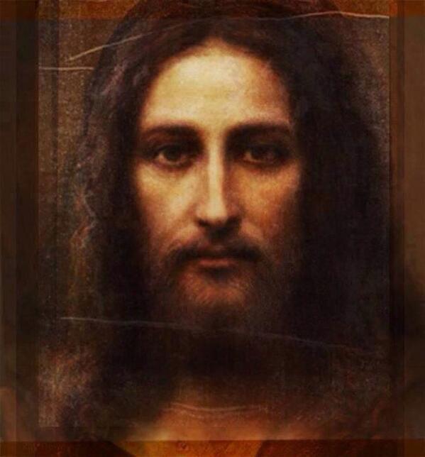 Padre Giacomo Vigo (@giacvig): Il volto di #Gesù ricavato dalla #Sindone. http://t.co/dkYmz6fH3p