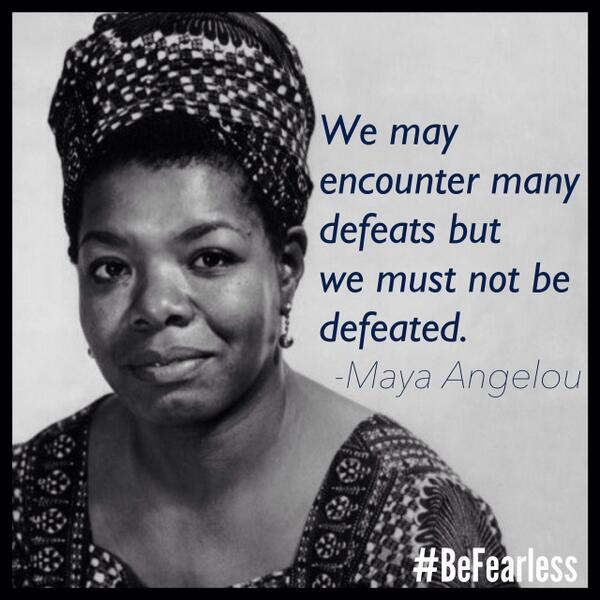 Maya Angelou was an incredible poet, activist and inspiration. Her legacy will live forever. http://t.co/CtlHfMk4hT