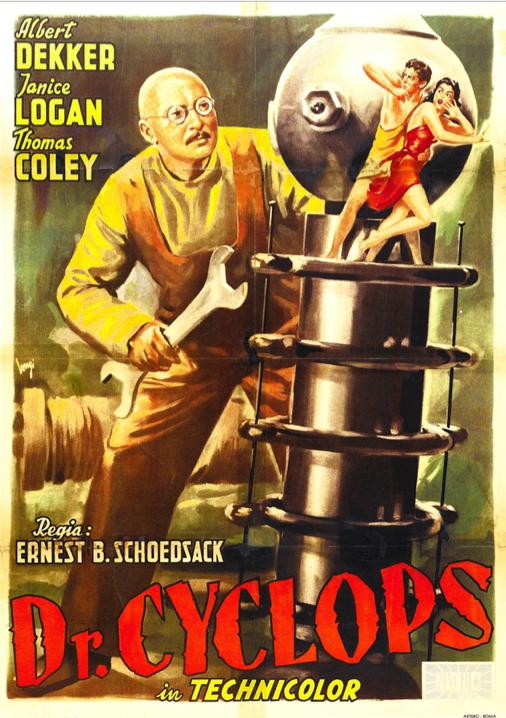 """@Dr_Giallo: DR. CYCLOPS (1940)  > Trailer Video! #scifi #horror #poster  https://www.youtube.com/watch?v=xlSqylxm3jo… pic.twitter.com/9Uzfu4xa3P""  Круть!"