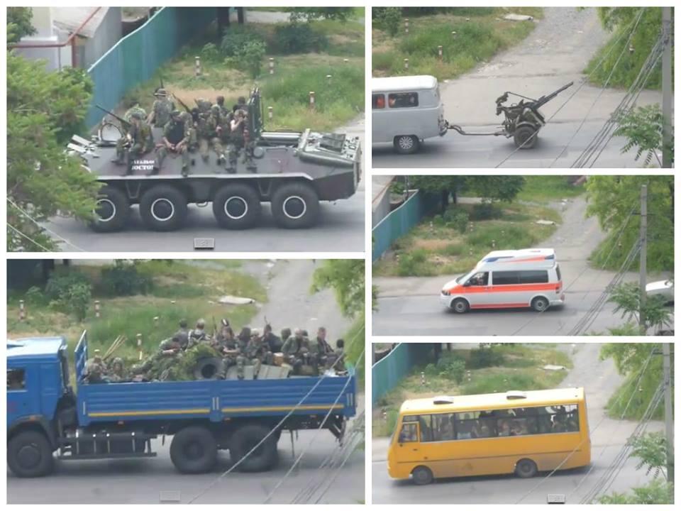 Террористы обстреляли воинскую часть в Донецке, - Минобороны - Цензор.НЕТ 1472