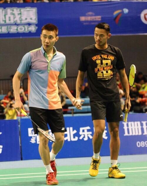 Lee Chong Wei On Twitter Played Doubles W Lin Dan Vs Cai Yun Fu