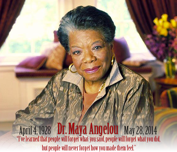 Rest In Peace @DrMayaAngelou Your works while on Earth will keep your presence here immortal… http://t.co/jYk5i5C4O0
