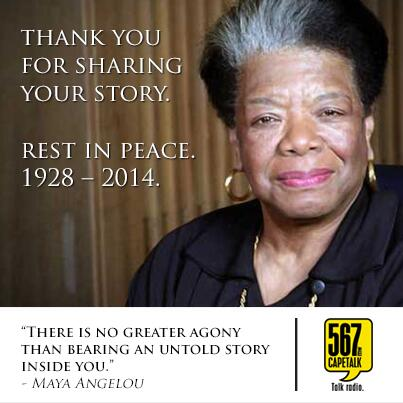 [VIEW] We celebrate your legacy. RIP Maya Angelou. 1928 - 2014. http://t.co/8pq80Em7FW
