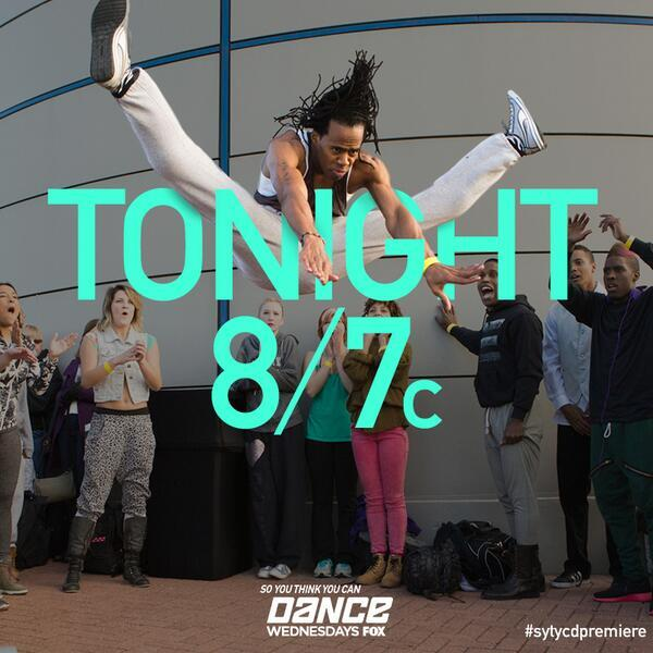 #SYTYCD Season 11 premieres TONIGHT at 8/7c. RT if you'll be watching! I will be! #SYTYCDpremier @DanceOnFox http://t.co/Dox78Iu8UU