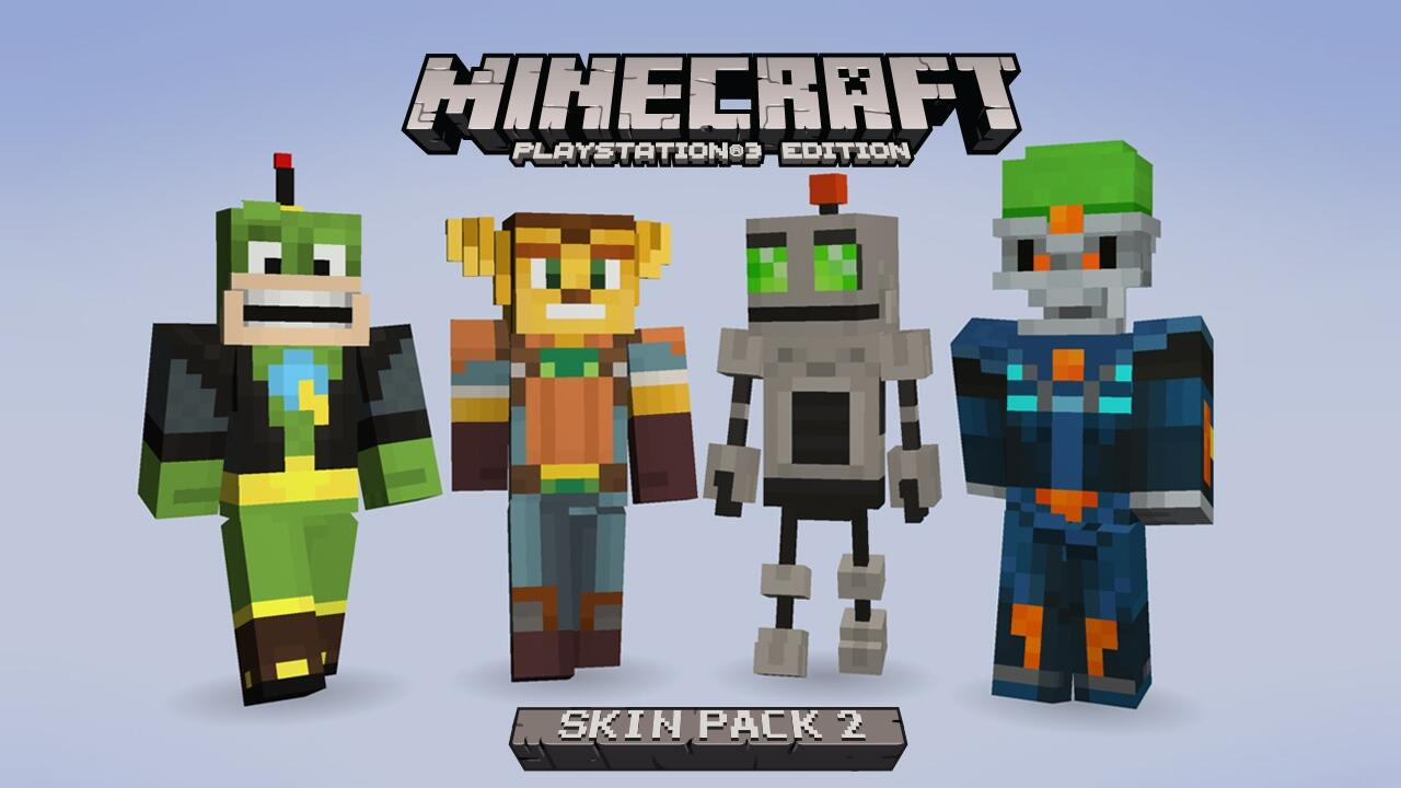 J Studios On Twitter MinecraftPS Skin Pack Is Out Now Http - Skins para minecraft ps3 gratis