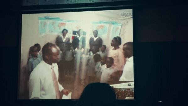 So far we have Skyped into classrooms in cali and Africa! #Skypelab @SkypeClassroom http://t.co/H6wrpUrfyr