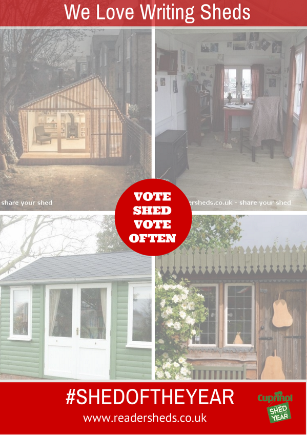 Some amazing writing sheds entered for #shedoftheyear http://t.co/BiA5GploHn cc @neilhimself oh and the odd #TARDIS http://t.co/2h2QLxnVxr