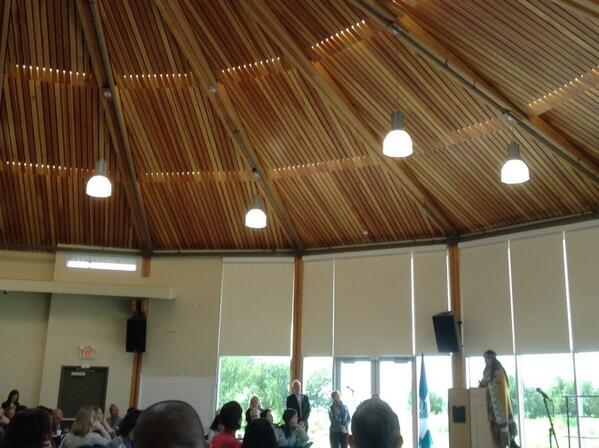 The power of witnesses - Day 2 #SIXVan14 gets under way at inspiring #Musqueam Community centre http://t.co/NiVZZu9ZLj