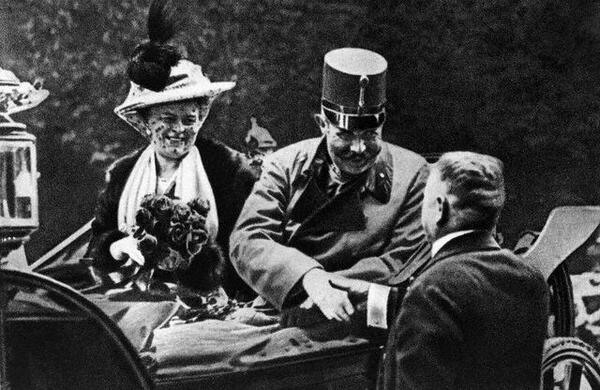 @N_Cabrinovic Yes! @ArchdukeFranzi & @Duchess_Sophie will be in Sarajevo on June 28th… #KU_WWI #conspiracy http://t.co/HZTRitpT4B