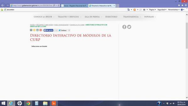 Renapo Segob в Twitter Aletzilla81 El Directorio