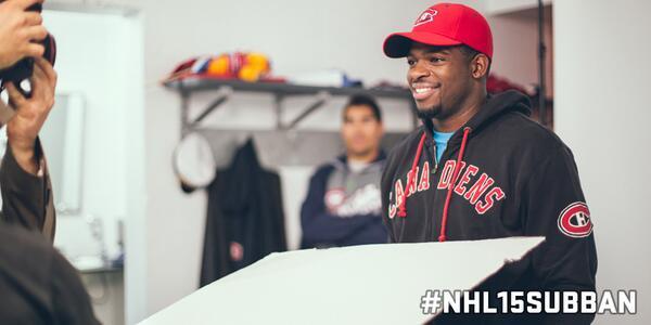 75. Prenant la pose. /    Striking a pose. #NHL15Subban #76minchallenge #defi76minutes http://t.co/U8PxAAFLQu