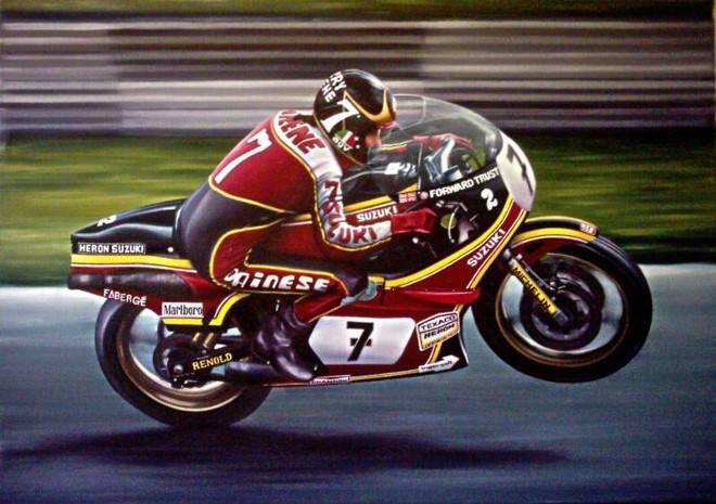 Today would have been Barry Sheene\s 67th Birthday. Happy Birthday Baz!