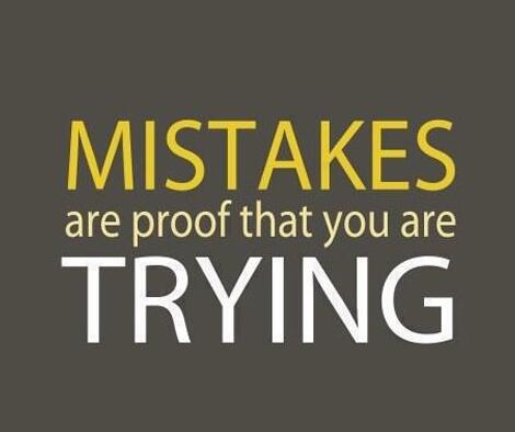 We learn from our mistakes. http://t.co/0JyhGhM3ku