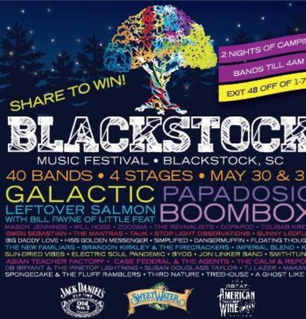 Here's your chance to win tix to @BlackstockFest! Just FOLLOW @zoogma and RT this photo! Winner announced today!