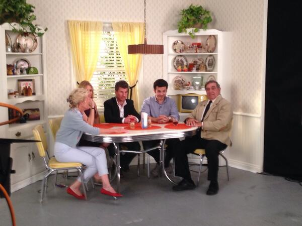 The Arnold family #WonderYearsDVD http://t.co/C8sZT79bHb