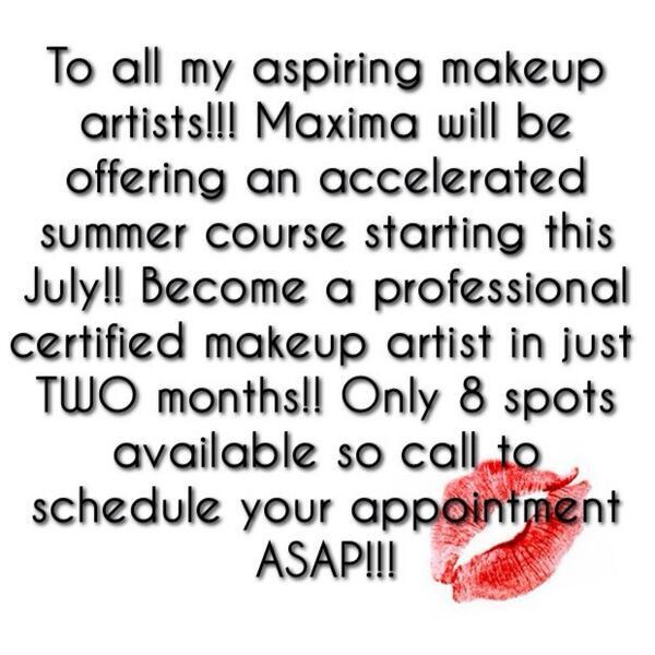 Maxima Makeup School Maximamakeupart