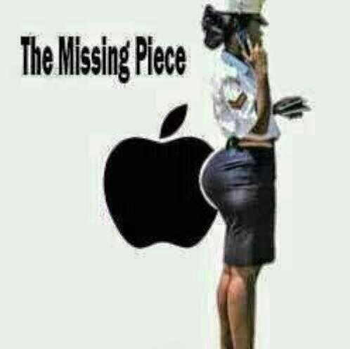 LOL  RT @BreezyIyese: OMG!! RT @rokemoRbn RT #BabaWhileYouWereAway Apple discoverd their missing piece in kenya http://t.co/9ez3ONLtQq