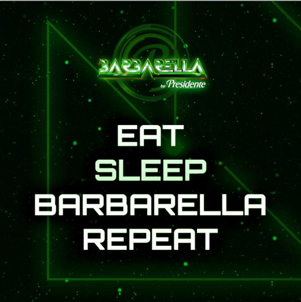 Les recuerdo, hoy, tenemos una promoción de Barbarella, D2GO Tiradentes a partir de las 6pm.#Barbarella2014 http://t.co/GS9dWBoQdg