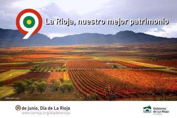 Fotón para celebrar el Día de La Rioja http://t.co/NJ1kpS53lC