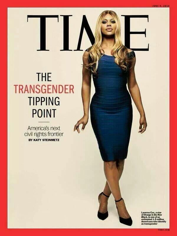couverture du Time Laverne Cox