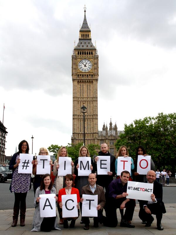 Can you help us tell the world it is #TimeToAct to end #sexualviolence in conflict? Share a photo using #TimeToAct http://t.co/EI7EyCg7P8