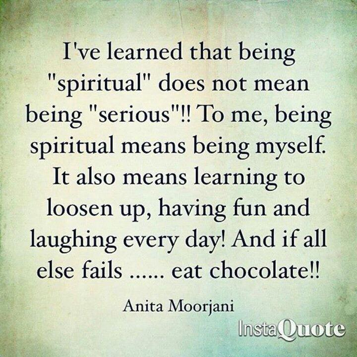 Twitter / JoyAndLife: Being spiritual does not mean ...