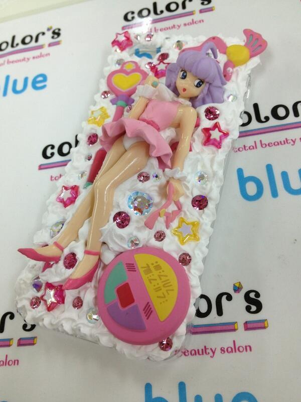 クリーミーマミたんのクリームデコ☆iPhoneケース☆おぱんつまるみえ(>_<) パーツはお客様の持ち込みです! http://t.co/O9xeo0HkEi