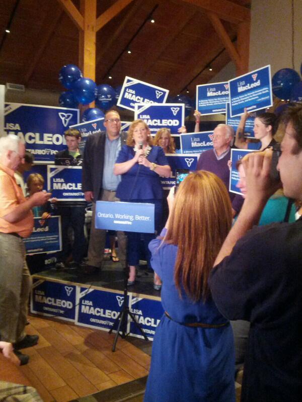 """@MacLeodLisa """"thx for 3-peat"""" wins seat tonight #cbcott #onpoli http://t.co/Pd8ULn4XxQ"""