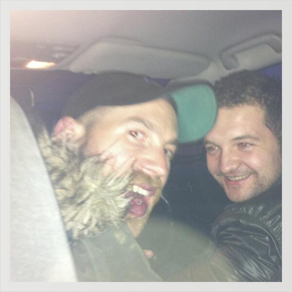 Meet @kevinbridges86's Bulgarian taxi driving stunt double. Yaldyz! http://t.co/witnxG63EJ