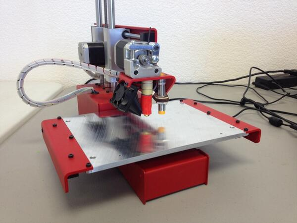 printrbot on twitter finally it is real the metal printrbot