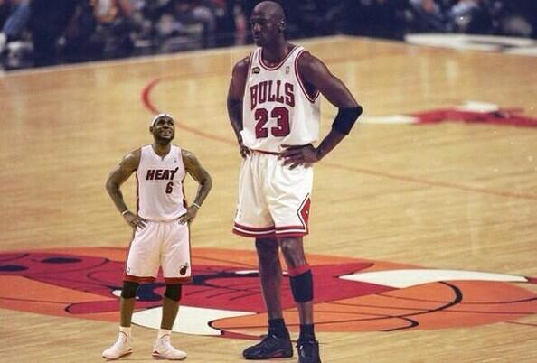 LMFAO!!!!! RT @TheBullsQueen: when people try to compare lebron to Michael Jordan http://t.co/Tuk0FoPqp3